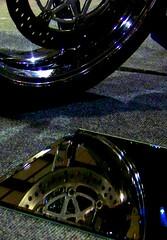 Seeing Double (Boogie_Baby) Tags: show bike mirror tire motorcycle reflextion bikeshow 2010 timonium