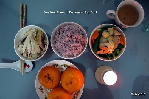 Reunion Dinner: Dad