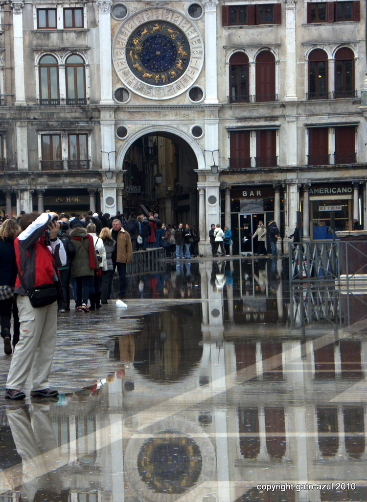 Acqua Alta In Venice - St. Mark's Square