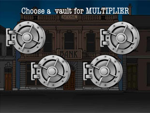 free Reel Crime 1 Bank Heist slot bonus multiplier