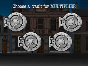 free Reel Crime 1 Bank Heist slot bonus multiplier