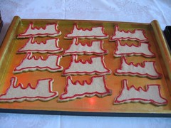 Train sugar cookies...or Moab?