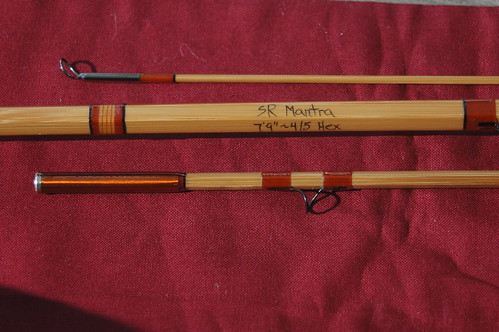 Sweetgrass Mantra Series Bamboo Fly Rod