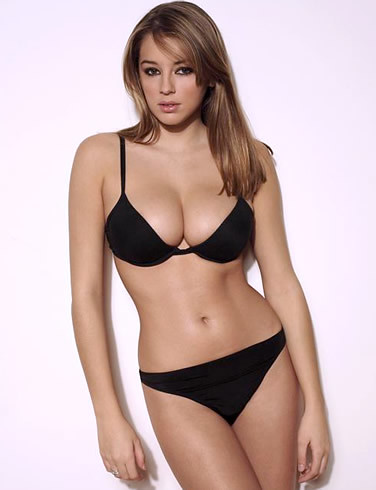 British model Keeley Hazell bikini photo