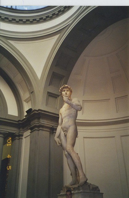 2001-04-05 Florence Italy statue of David