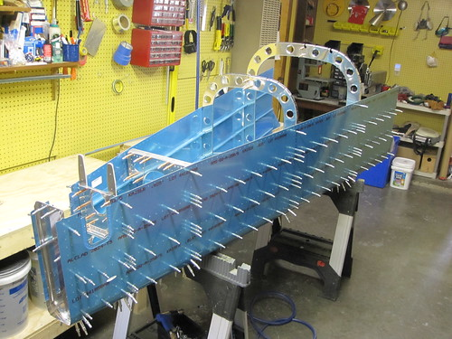 Right Side Stiffeners Match Drilled