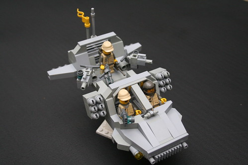 Coaltion Sky Raider troop transport