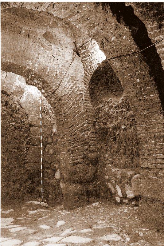 Interior de la Puerta del Vado