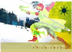 Frhling! (helen.wogan) Tags: snow berlin art collage illustration germany typography design graphicdesign photo spring mixed media europe experimental poem graphic handmade mixedmedia contemporary workinprogress gelb typo gedicht goethe lowbrow februar frhling wogan typographie typografie osterspaziergang fotoart unikat zeitgenssisch helenwogan smltypography