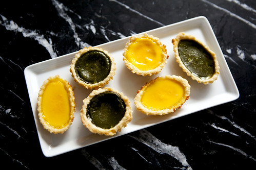 Homemade egg custard tarts (dan tats, 蛋撻)