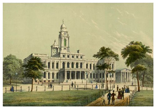 022-New York-City Hall 1850-The Eno collection of New York City-NYPL