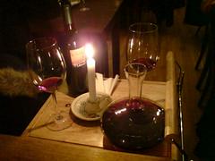 Weinservice im Restaurant Miseria et Nobilita