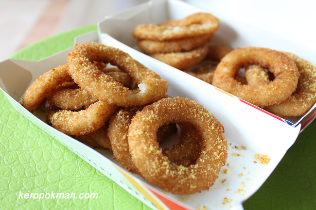 Garlic Cheese Onion Rings