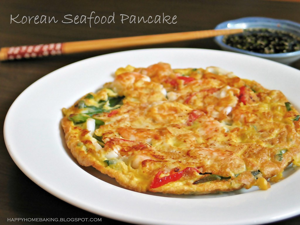Korean Seafood Pancake