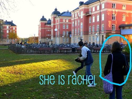 She is rachel