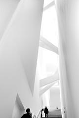 White (96dpi) Tags: blackandwhite bw white berlin monochrome vertical museum architecture 35mm kreuzberg mono stair bright interior innenarchitektur hell innen treppe staircase architektur sw highkey asymmetry schwarzweiss weiss daniellibeskind jewishmuseum jüdischesmuseum jüdischesmuseumberlin treppenhaus vertikal asymmetrie jewischmuseum ef35mmf14lusm lindenstrase