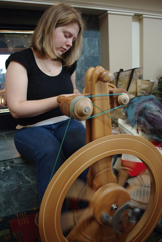 Maggie Spinning