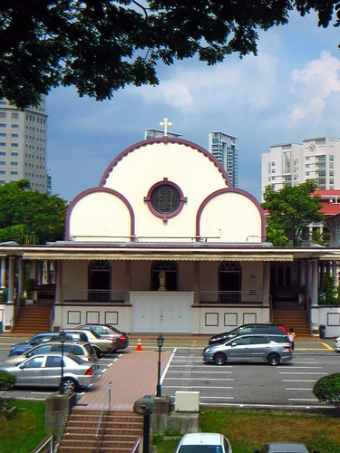 Just Another Dumpsite.: NOVENA CHURCH - SG Job Seeker's Shrine