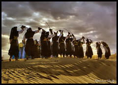 The Dance of Victory ! (Bashar Shglila) Tags: sahara night dance sand desert dunes traditional explore warrior tribe libya tuareg libyan ghat      explored           saariysqualitypictures
