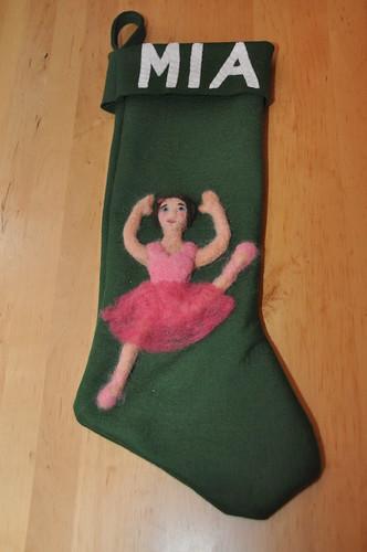 Mia Ballerina Stocking