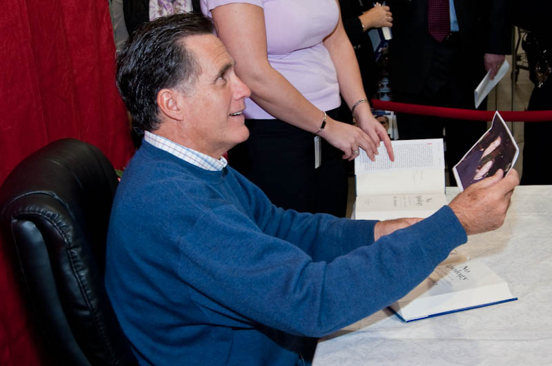Romney Book Signing-3
