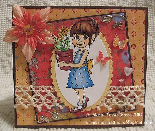 Victoria Case Spring Card