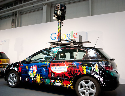 CeBIT 2010 - Google Streetview