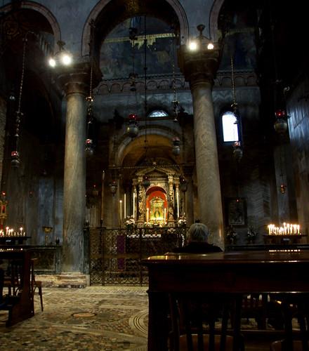 Venice - Inside St. Mark's Basilica