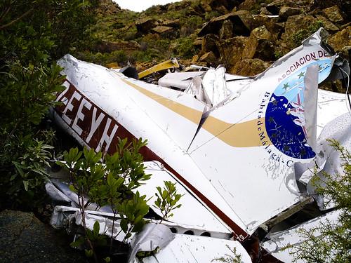 Avión Estrellado Sierra Bermeja (2)