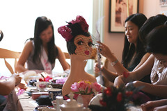 MAD HATTERS TEA PARTY AND FASCINATOR WORKSHOP AT BAKE-A-BOO