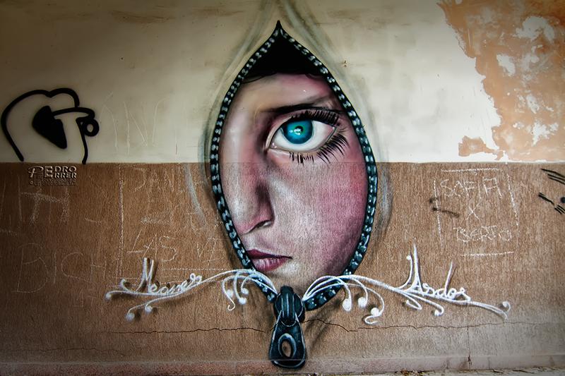 Graffitis en el Seminario - Si las paredes hablaran