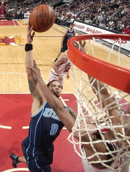 What, did the mayor give Deron Williams the key to the city or something? Because he totally owned Chicago last night.
