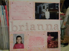 12x12 Scrapbook Page