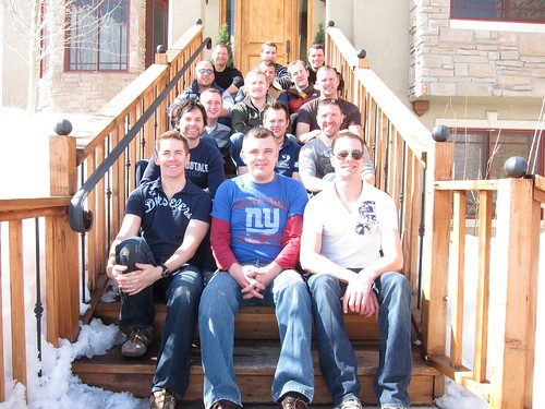 The 15 of us at our house in Park City, Utah