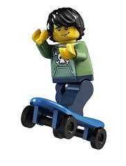 Lego 8683 Minifig Skater