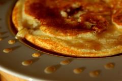 煎饼aux pommes et au sirop d'ériableàlacannelle