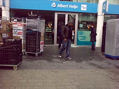 Albert heijn in Amsterdam  (DOCOMO Netherlands B.V.) in a happy mood (kazunoriwakana) Tags: winter netherlands amsterdam contextwatcher celltagged geotagged march office day cloudy working dry moonlight monday albertheijn noordholland exif lightbreeze cell:mcc=204 cell:mnc=8 cell:lac=4472 iyouit cell:cellid=45155 geo:range=00 weather:realfeel=verycold location:continent=europe location:timezone=1 experience:mood=happy weather:moonstate=newmoon weather:humidity=high weather:pchange=steady weather:tstorm=low weather:uv=low weather:uvmax=low weather:visibility=high weather:coverage=high weather:rain=high weather:dir=west location:dayhour=9 weather:pressure=heigh experience:dayhour=8 experience:drinking=coffee location:postalcode=1077 location:maxspeed=100 location:street=zuidplein experience:transport=tram location:tag=phone205759111 location:type=conventionexhibitioncentre docomonetherlandsbv geo:lat=52340349 geo:long=4873766