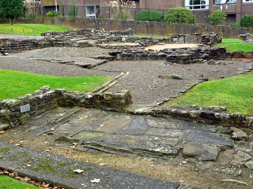 Roman Baths at Bearsden