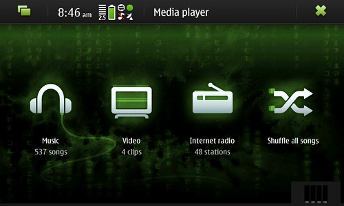 Media Player in N900