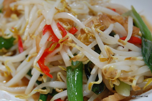 salted fish beansprouts