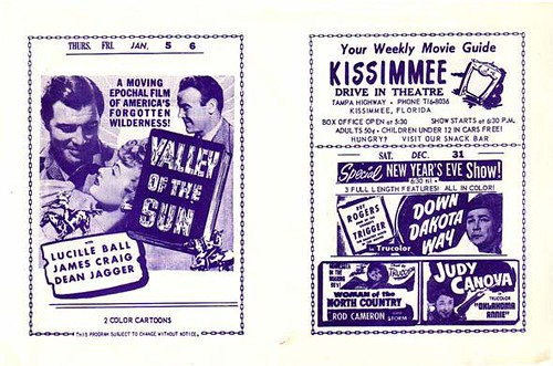 KISSIMMEE Drive-In Flyer