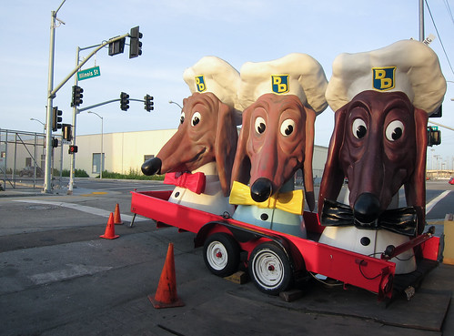 Doggie Diner Dog Heads