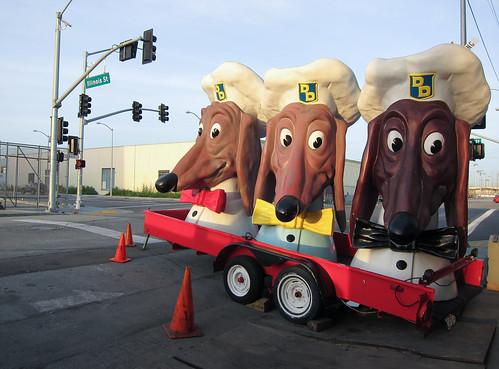 Doggie Diner Dog Heads