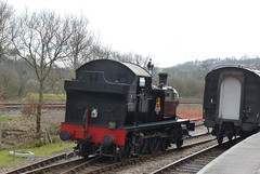 5526 at Totnes - 21 March 2010 (John Oram) Tags: southdevonrailway 5526 totnes 4575class