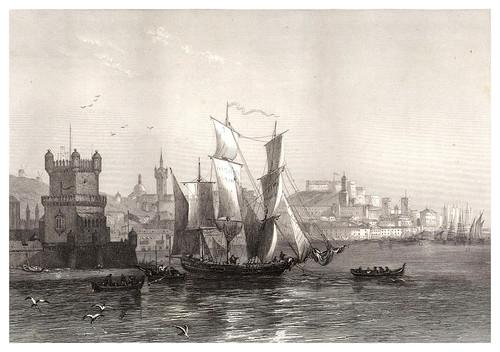 020-Lisboa-Voyage pittoresque en Espagne et en Portugal 1852- Emile Bégin