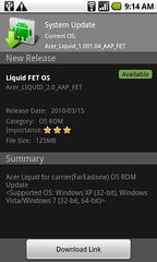 Acer Liquid update tool ... download link?