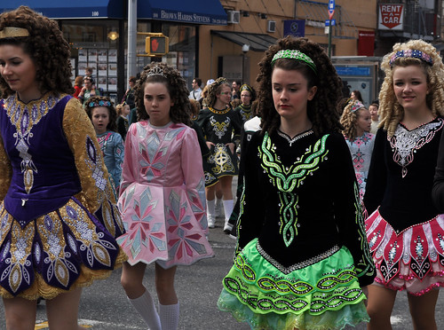 Irish Dancers with Mop Curls