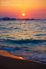 Pattaya Sunset (Pkamo@Tai) Tags: trip travel beach asian thailand asia tour thai pattaya 2010  puykamo  travelinthailand  viewofpattaya