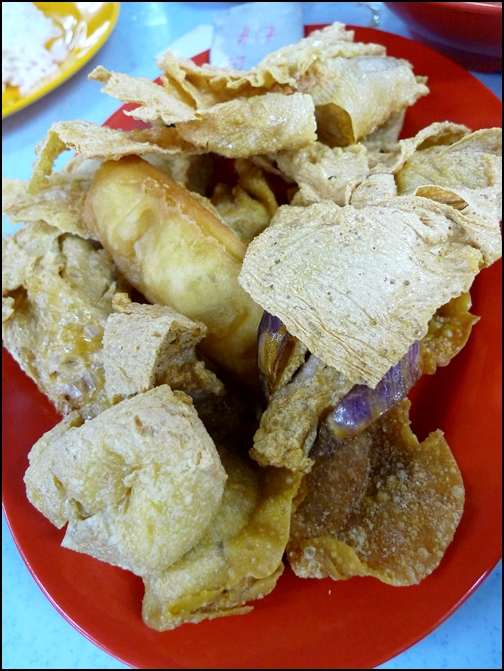Deep-fried Yong Tau Foo