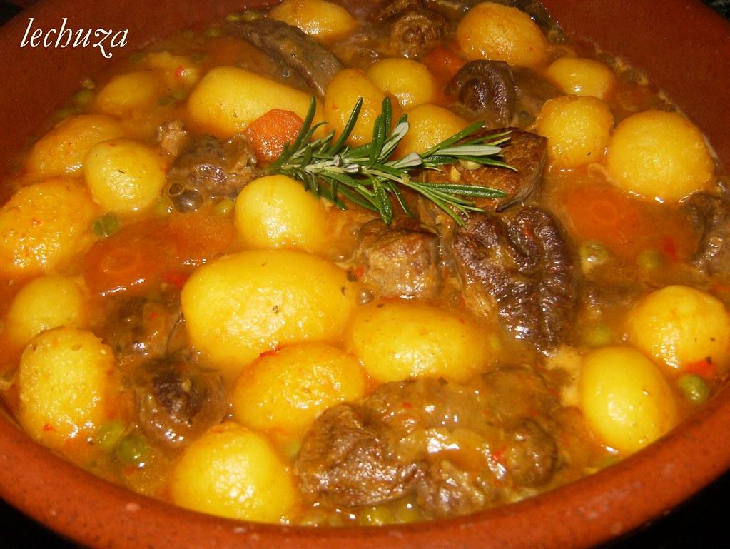 Jarrete Estofado Cazuela De Barro (Mi Lechuza Cocina) Tags: Carnes